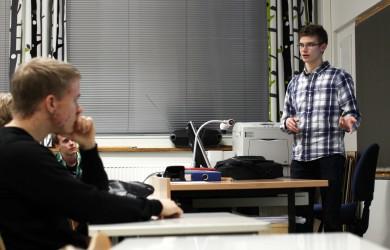 Arttu Ihalainen kertoo kauppatieteiden opiskelusta